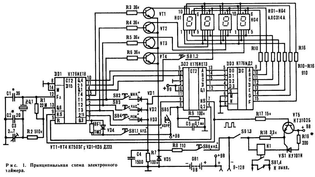 Ив 28а индикатор схема