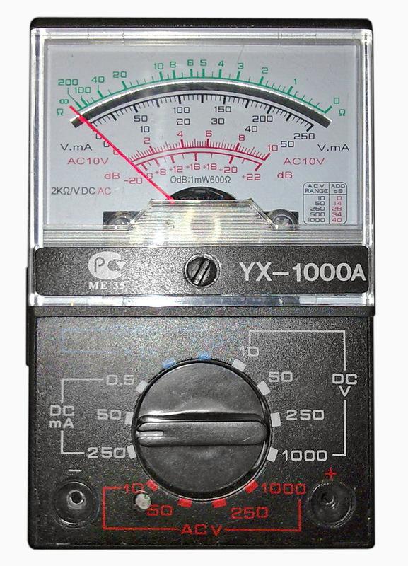 Измеритель ESR оксидных