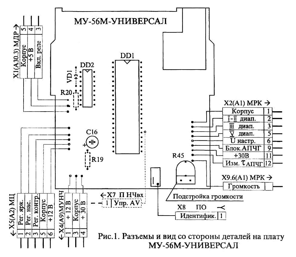 Схема телевизора 4 поколения фото 616