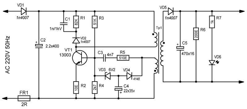 Схема зарядки iphone 4s