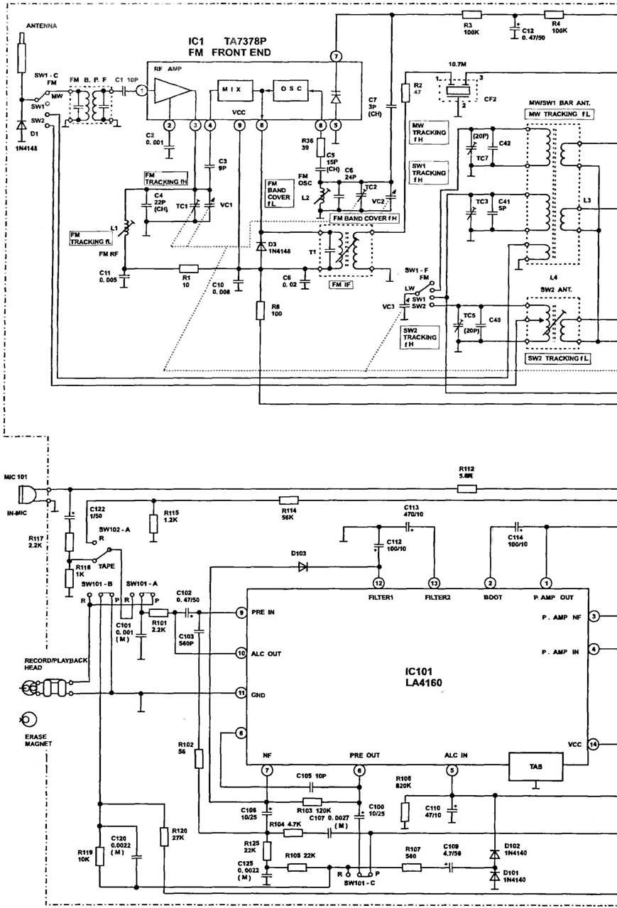la1265 приемник fm схема описание