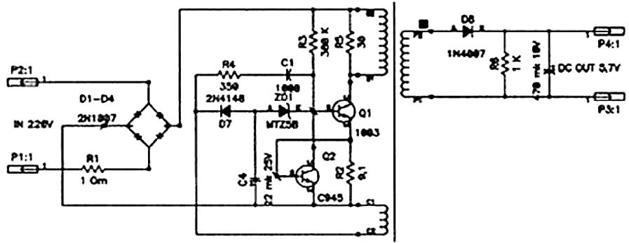 Схемы зарядок для соток